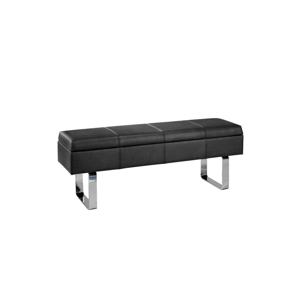 Home decorators collection black bench 3808810220 the for Home decorators bench