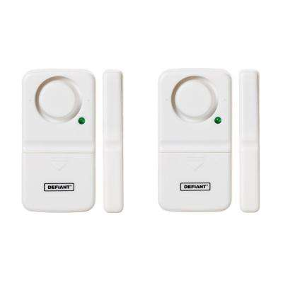 Wireless Home Security Door/Window Alarm (2-Pack)