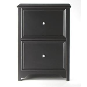 Home Decorators Collection Oxford Black File Cabinet 2914400210 The Home Depot