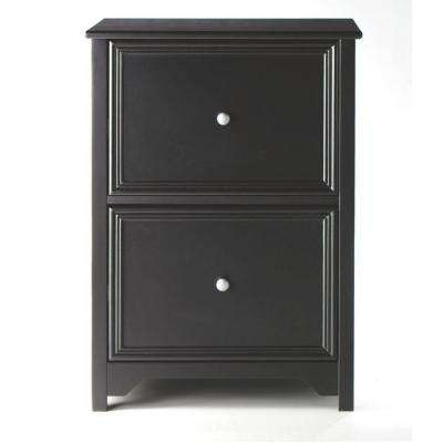 Oxford Black 28 5 In File Cabinet