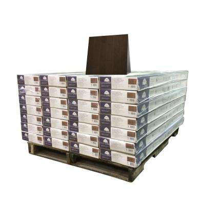 Maple Midnight 3/8 in. Thick x 4-3/4 in. Wide x Random Length Engineered Click Hardwood Flooring (924 sq. ft. / pallet)