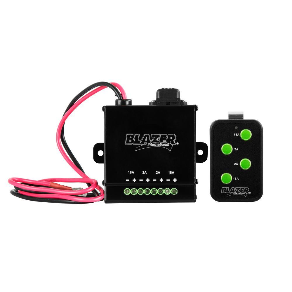 Blazer International Remote Controlled Lighting System