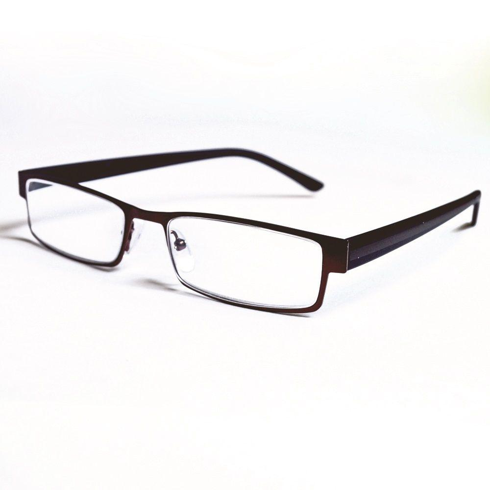 37b2247cfed8 Magnifeye Reading Glasses Modern Bronze 2.5 Magnification-86017-14 ...