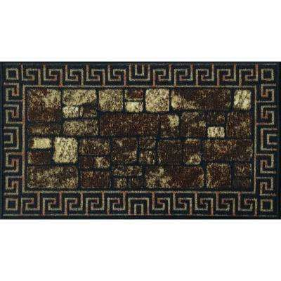Cucina Collection 18 in. x 31 in. Rubber Back Kitchen Mat