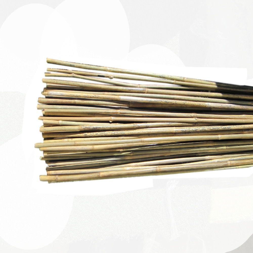 Backyard x scapes 1 2 in x 6 ft natural bamboo poles 25 for Uses for bamboo canes