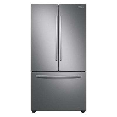 28.2 cu. ft. French Door Refrigerator in Stainless Steel with Autofill Water Pitcher