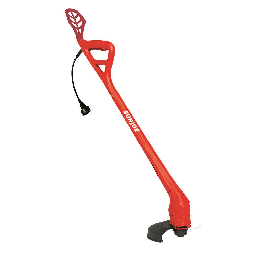 10 in. 2.5 Amp Electric String Trimmer in Red