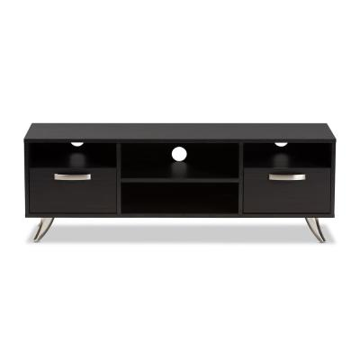 Warwick Dark Brown 2-Drawer TV Stand