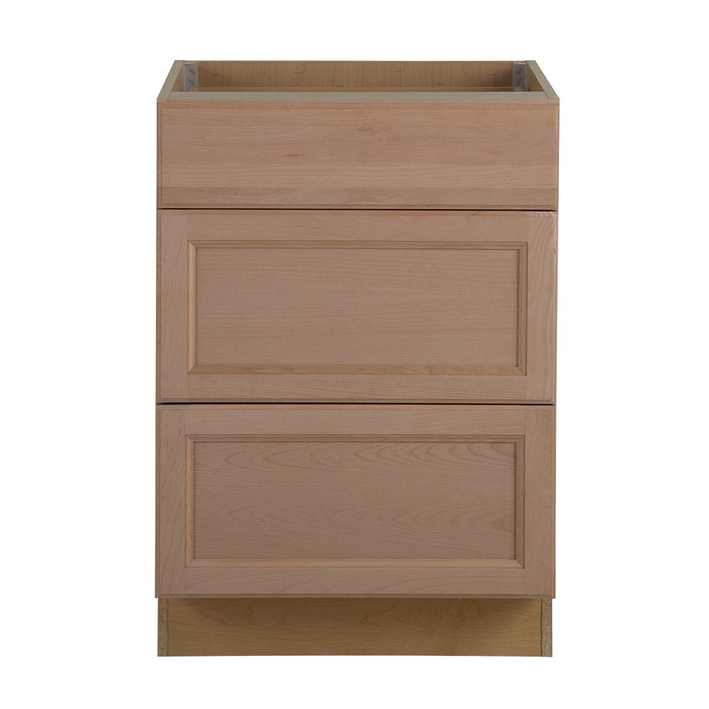 Hampton bay assembled 24 in x 34 5 in x in for Kitchen cabinets and drawers