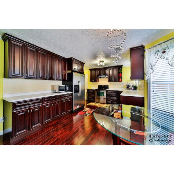 Lifeart Cabinetry Edinburgh Assembled 36 In X 12 In X 24 In Wall Cabinet With 2 Doors No Shelf In Espresso Ae W3612 24 The Home Depot