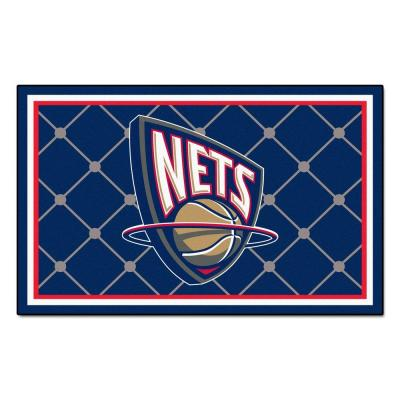 New Jersey Nets 5 ft. x 8 ft. Area Rug