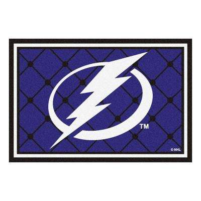Tampa Bay Lightning 5 ft. x 8 ft. Area Rug