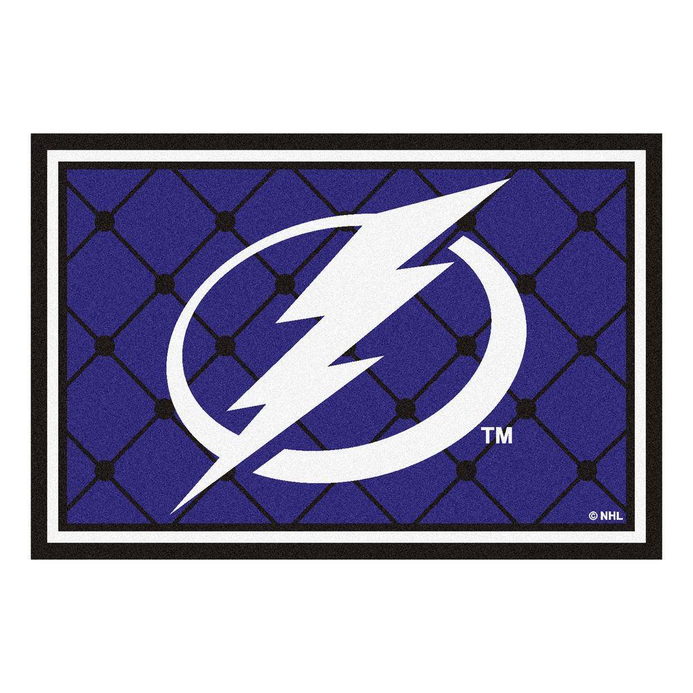Tampa Bay Lightning 5 ft. x 8 ft. Area Rug