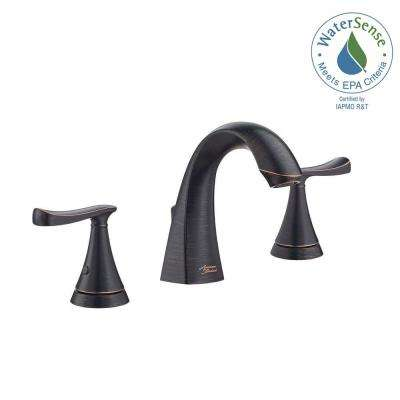 Chatfield 8 in. Widespread 2-Handle Bathroom Faucet in Legacy Bronze