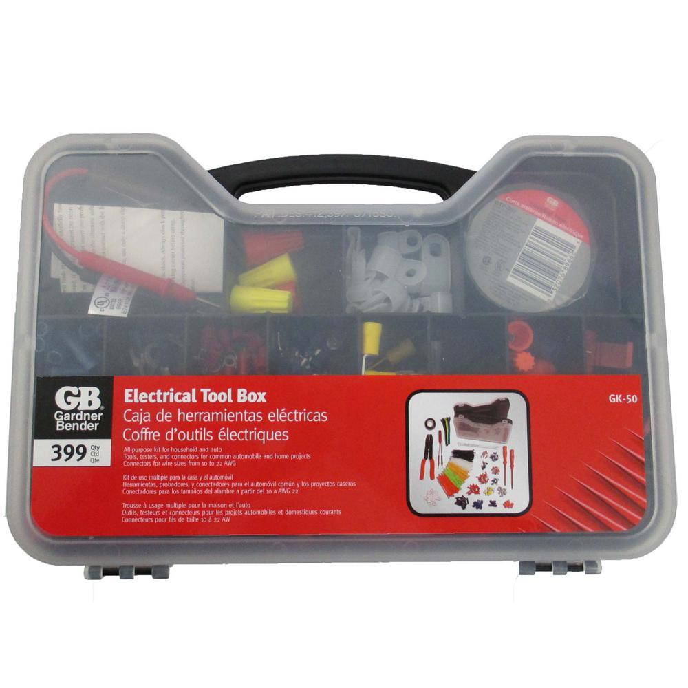 Gardner Bender DIY Electrical Tool Box (399-Piece)
