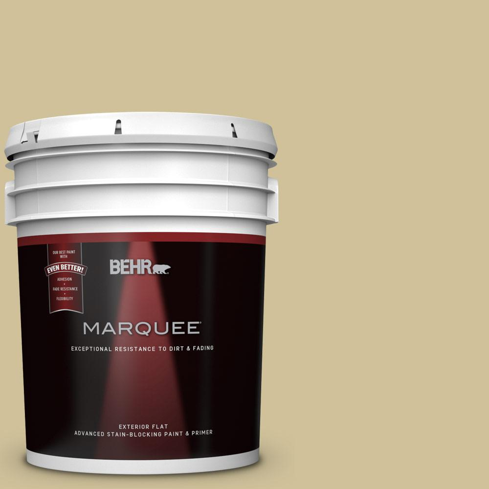 BEHR MARQUEE 5-gal. #390F-4 Outback Flat Exterior Paint
