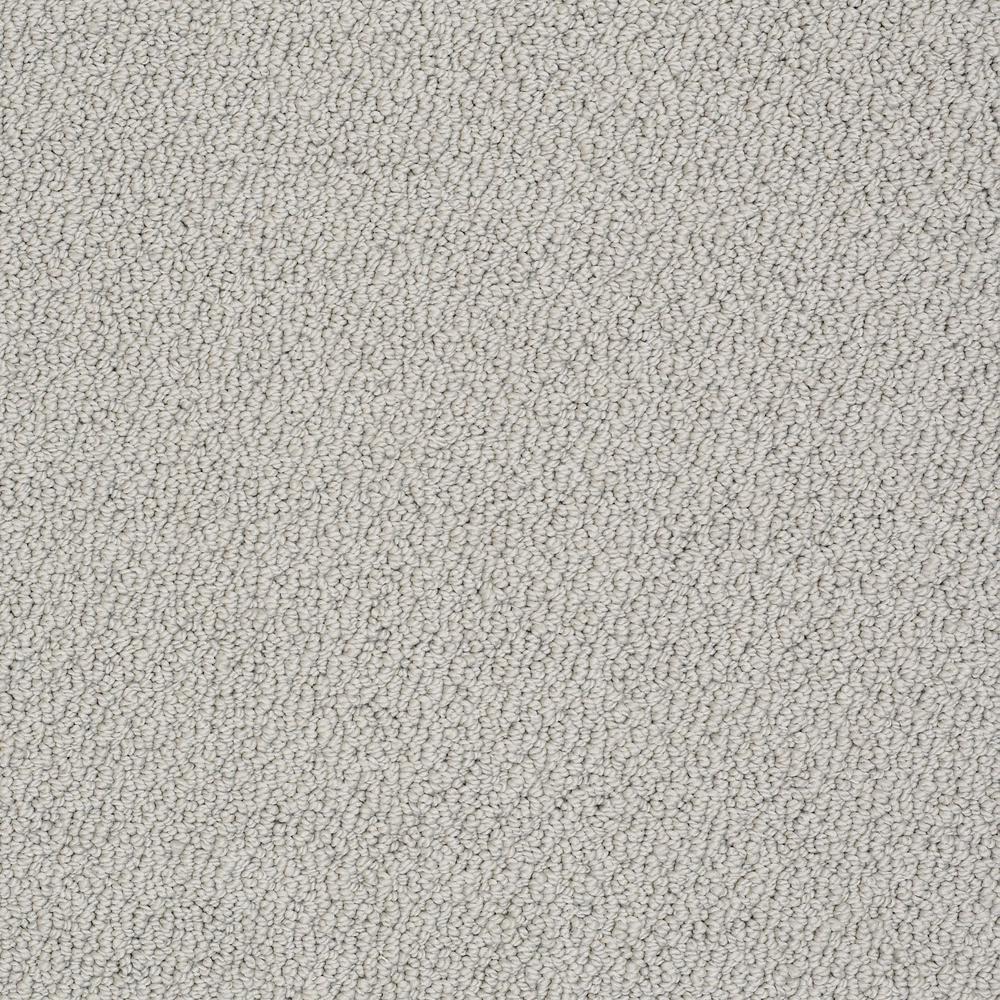Carpet Sample - Lightbourne - Color Dove Loop 8 in. x 8 in.