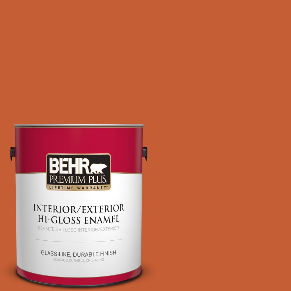 1 gal. #T18-02 Civara Hi-Gloss Enamel Interior/Exterior Paint