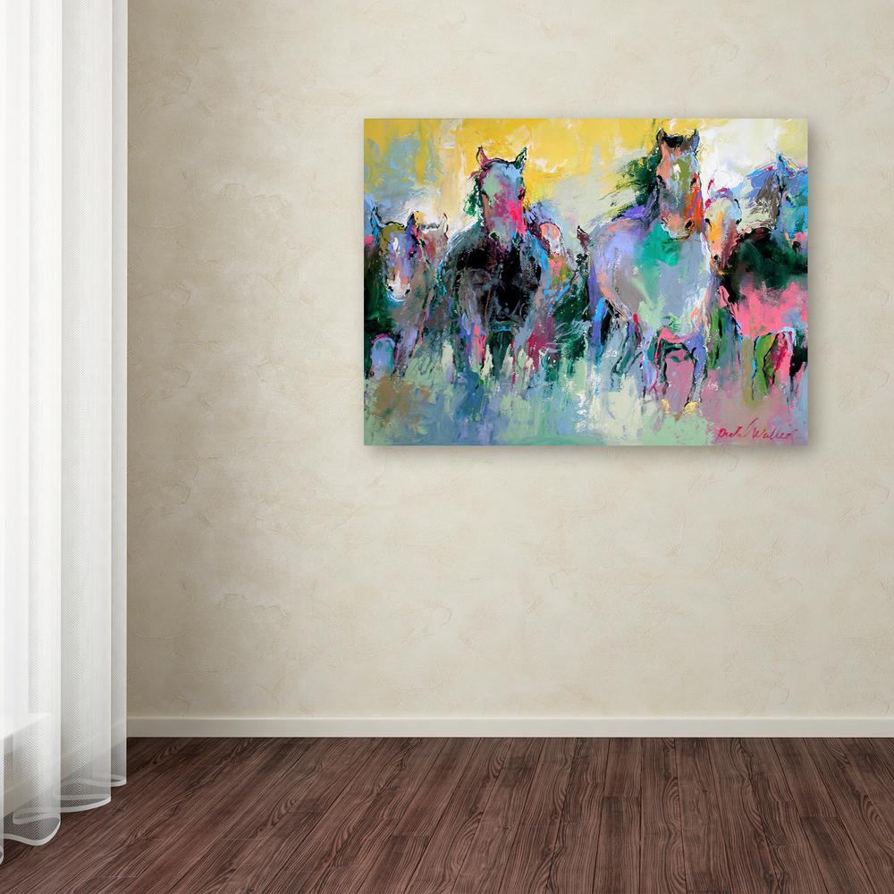 "24 in. x 32 in. ""Art Wild 2"" by Richard Wallich Printed Canvas Wall Art"