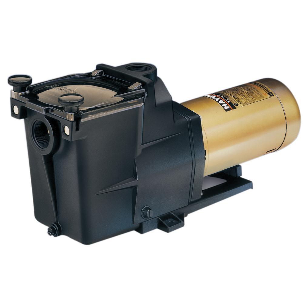 1 HP Super Inground Single Speed  Pool Pump