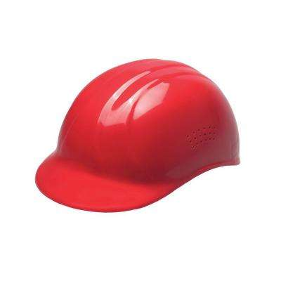 4-Point Plastic Suspension Pin-Lock 67 Bump Cap in Red