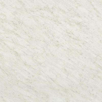 60 in. x 120 in. Laminate Sheet in White Carrara with Standard Fine Velvet Texture Finish