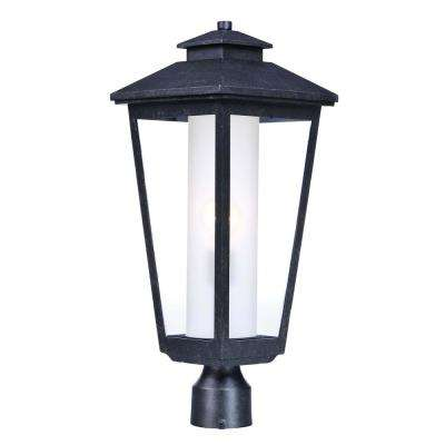 Aberdeen 9 in. Wide 1-Light Outdoor Artesian Bronze Post Light
