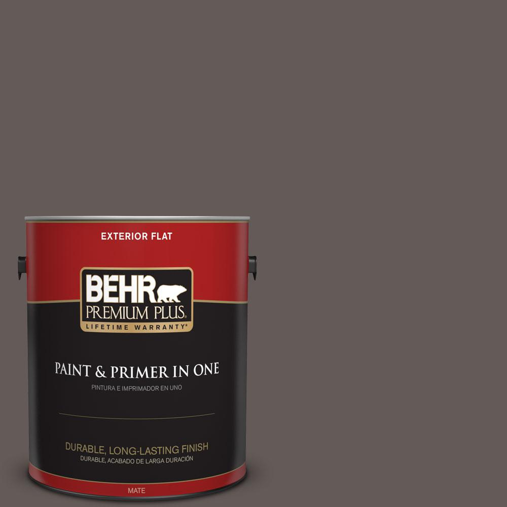 1-gal. #BXC-71 Wood Acres Flat Exterior Paint