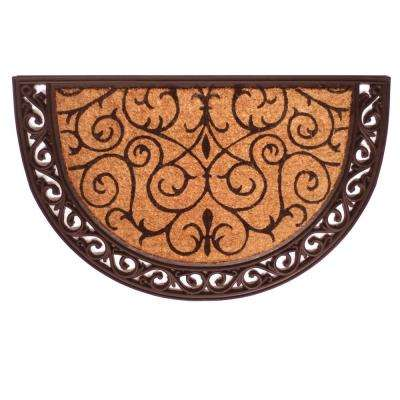Ornate Scroll 24 in. x 36 in. Door Mat
