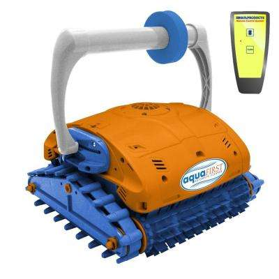 Aquafirst Turbo Robotic Wall Climber Cleaner with Remote Control for In Ground Pools