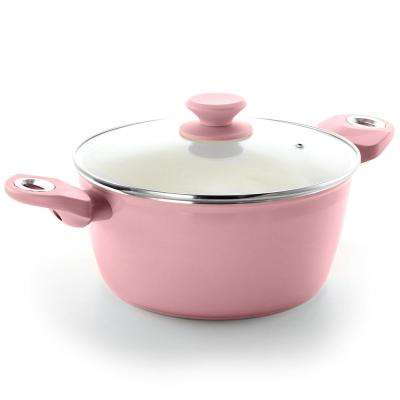 Plaza Cafe 4.5 Qt. Lavender Dutch Oven