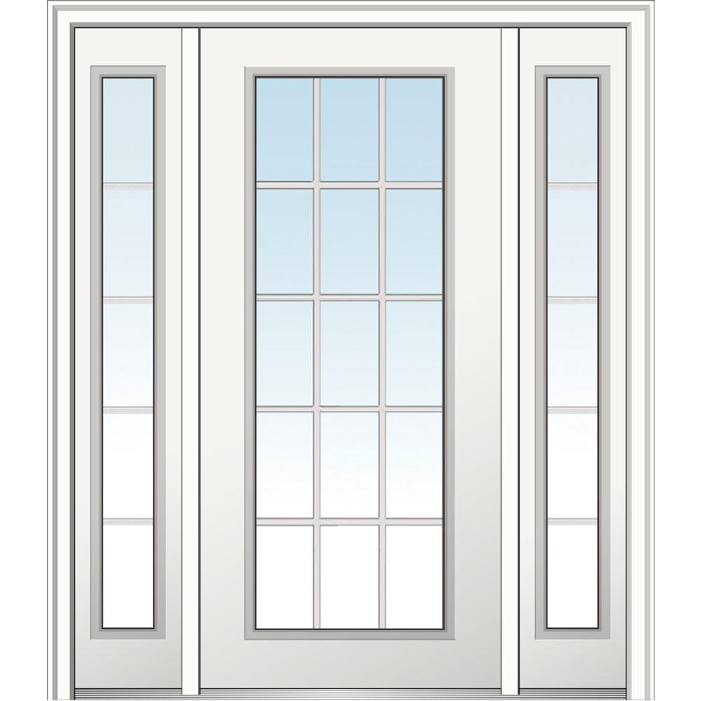 15 Lite - Doors With Glass - Fiberglass Doors - The Home Depot