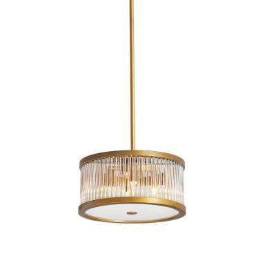 Greffen 4-Light 13 in. Vintage Bronze Pendant