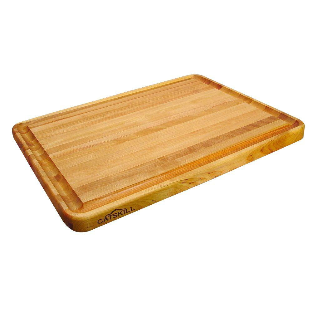 Catskill Craftsmen Pro Series Hardwood Reversible Cutting Board