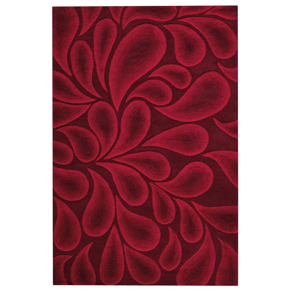 Home Decorators Collection Shadow Red 2 ft. x 3 ft. Accent Rug