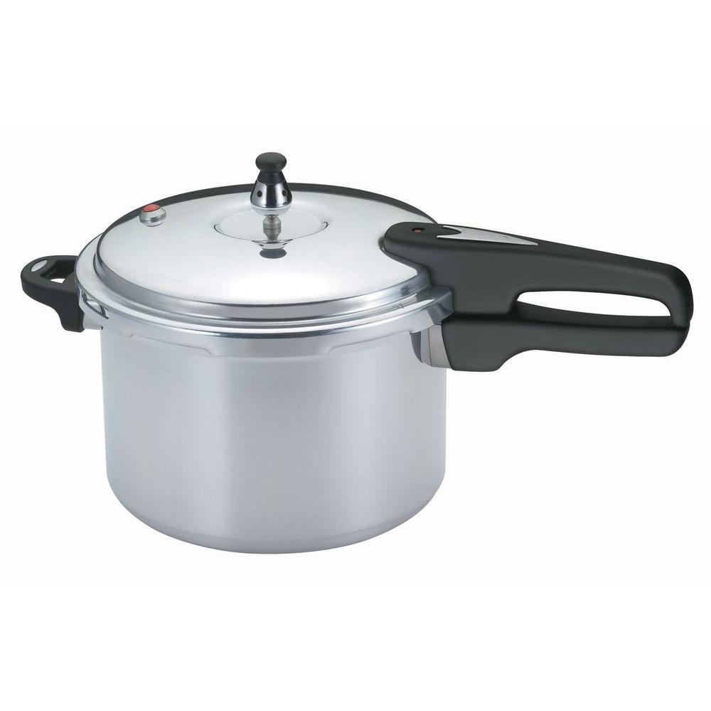 6 Qt. Aluminum Pressure Cooker
