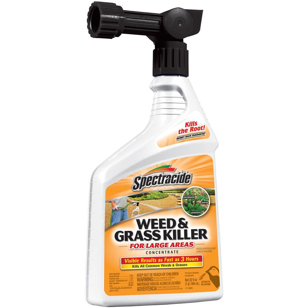 Spectracide Weed and Grass Killer 32 fl. oz. Ready-to-Spray Concentrate