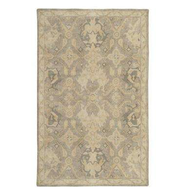 Chatsworth Gray 2 ft. x 3 ft. Area Rug