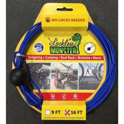 16 ft. Anti-Theft Cable with No Locks Needed