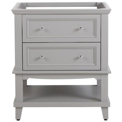 Teasian 30 in. W x 21 in. D Bathroom Vanity Cabinet Only in Sterling Gray