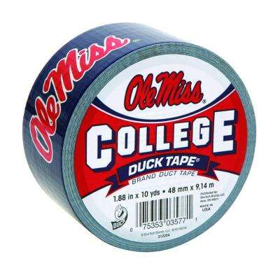 College 1-7/8 in. x 30 ft. Ole Miss Duct Tape