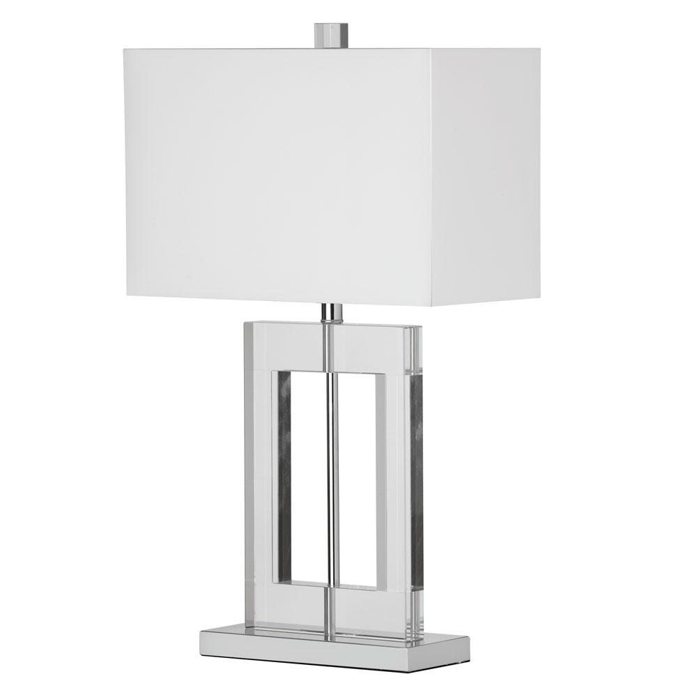 Filament design 255 in polished chrome table lamp cli dn520089 polished chrome table lamp aloadofball Images