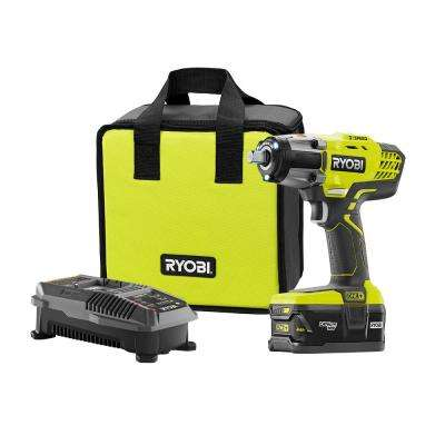 18-Volt ONE+ Lithium-Ion Cordless 3-Speed 1/2 in. Impact Wrench Kit w/4.0Ah HP Battery and 18-Volt IntelliPort Charger