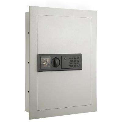 0.83 cu. ft. Electronic Large Hidden Wall Jewelry Safe