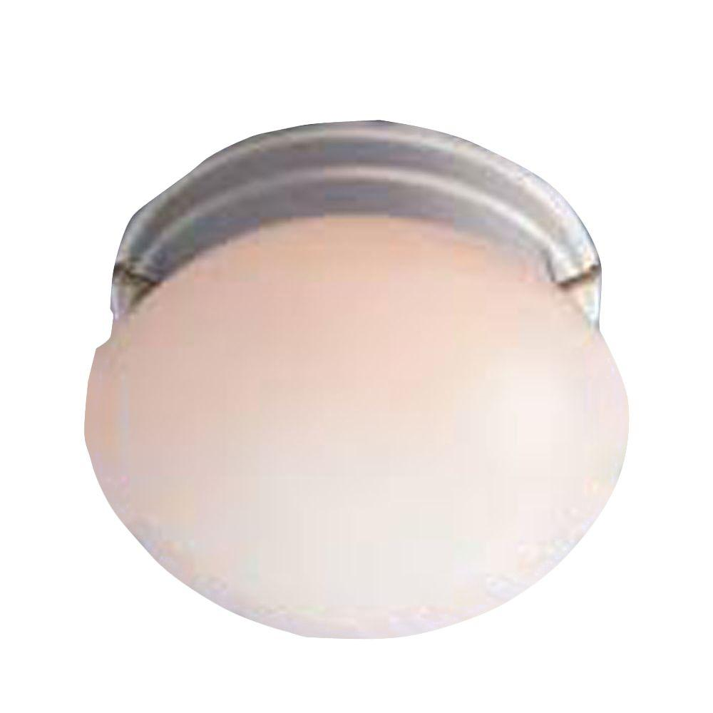Lenor 1-Light White Incandescent Wall Flush Mount