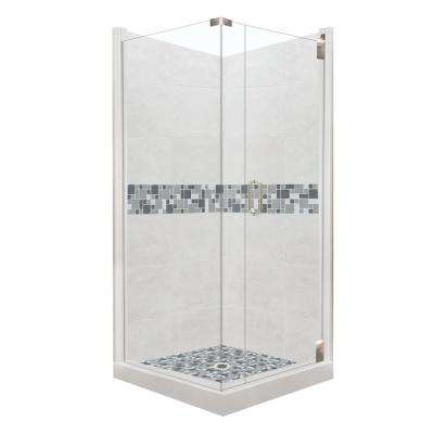 36 x 36 corner shower kit. newport grand hinged 36 in. x corner shower kit