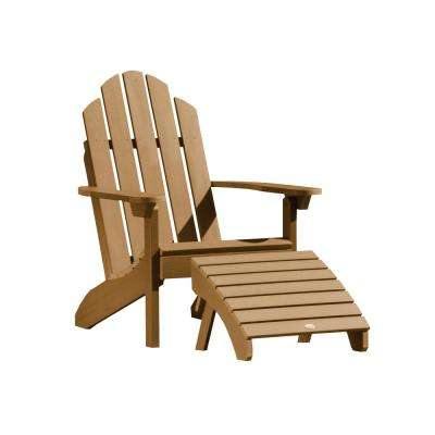Classic Westport Toffee 2-Piece Recycled Plastic Outdoor Seating Set