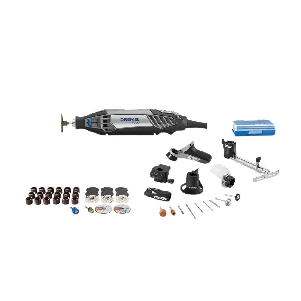 Dremel 4200 Series 1.6 Amps Corded Variable Speed Rotary Tool Kit with 47 Accessories