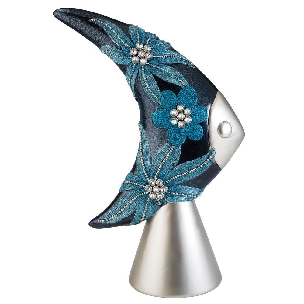Aqua Demeter Polyresin Decorative Piece