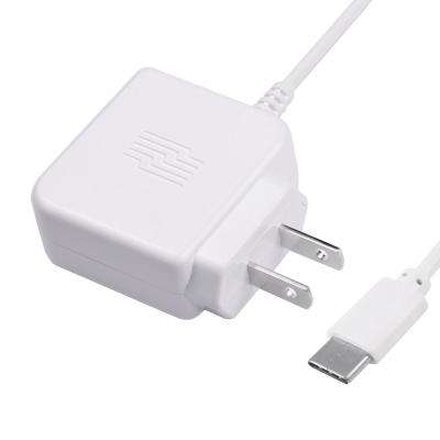 3 ft. USB C Phone Wall Charger, White